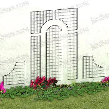 treillage bois pour plantes grimpantes treillage bois plant grimpant sur enperdresonlapin. Black Bedroom Furniture Sets. Home Design Ideas
