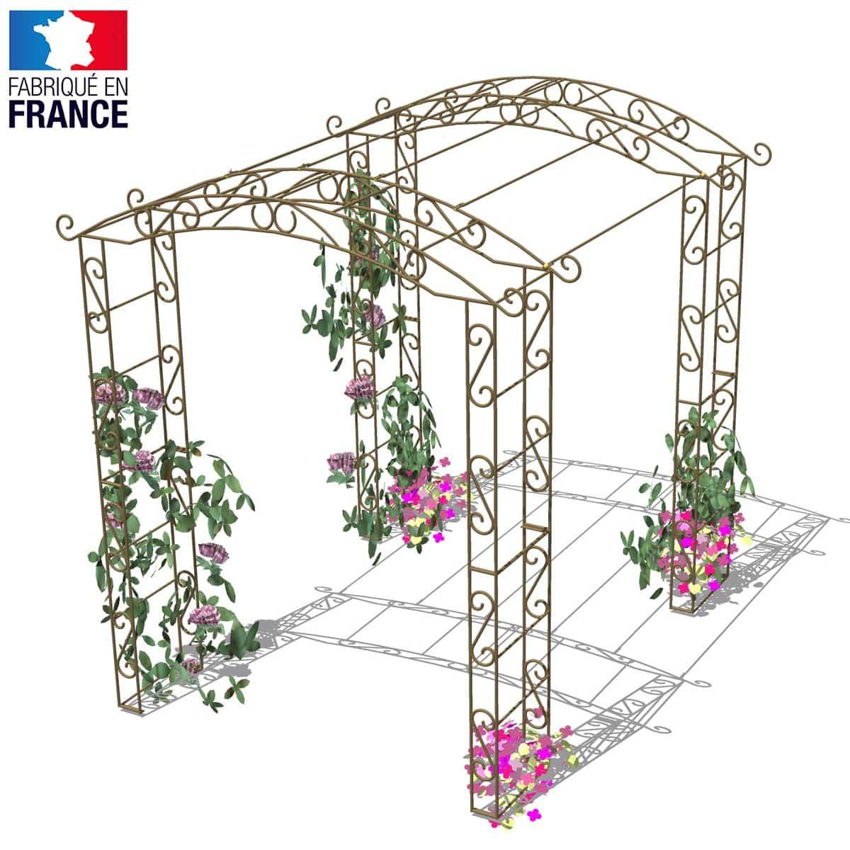 tunnel rosier grimpantes arches kiosque et marquise. Black Bedroom Furniture Sets. Home Design Ideas