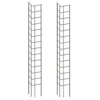 Lot de 2 tuteurs angle droit pour plantes grimpantes - 150cm