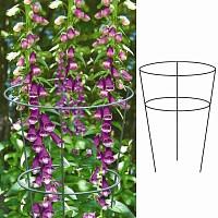 Tuteur cône 2 anneaux pour plantes à massifs - Diam. 25cm