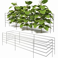 Tuteur support pour haricots long.110cm - Lot de 2