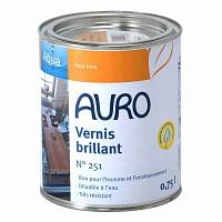 Vernis bio transparent brillant Auro 251 0.75L