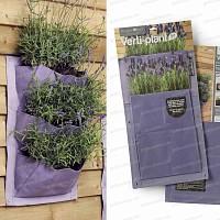 Verti-Plant 3 poches<br>lot de 2- couleur Lavande