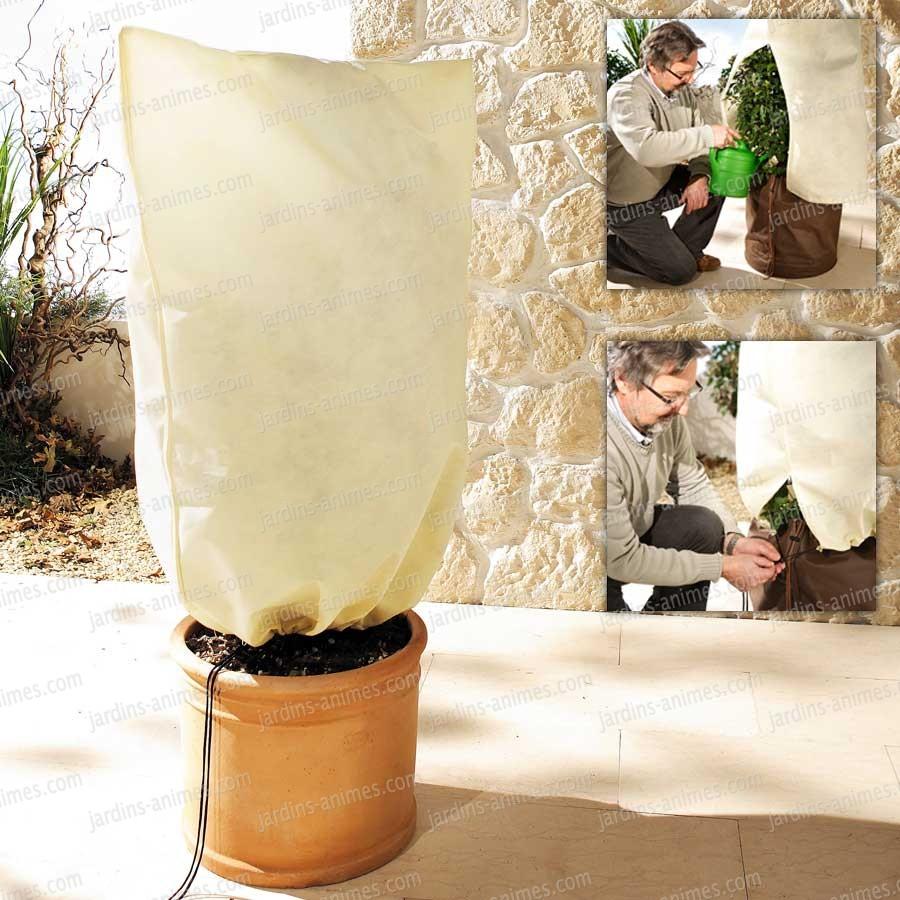 Voile d 39 hivernage xxl h x larg protection hivernale des plantes - Comment mettre un voile d hivernage ...