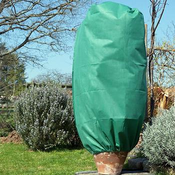 set de 3 housses d 39 hivernage zipp es vertes x protection hivernale des plantes. Black Bedroom Furniture Sets. Home Design Ideas