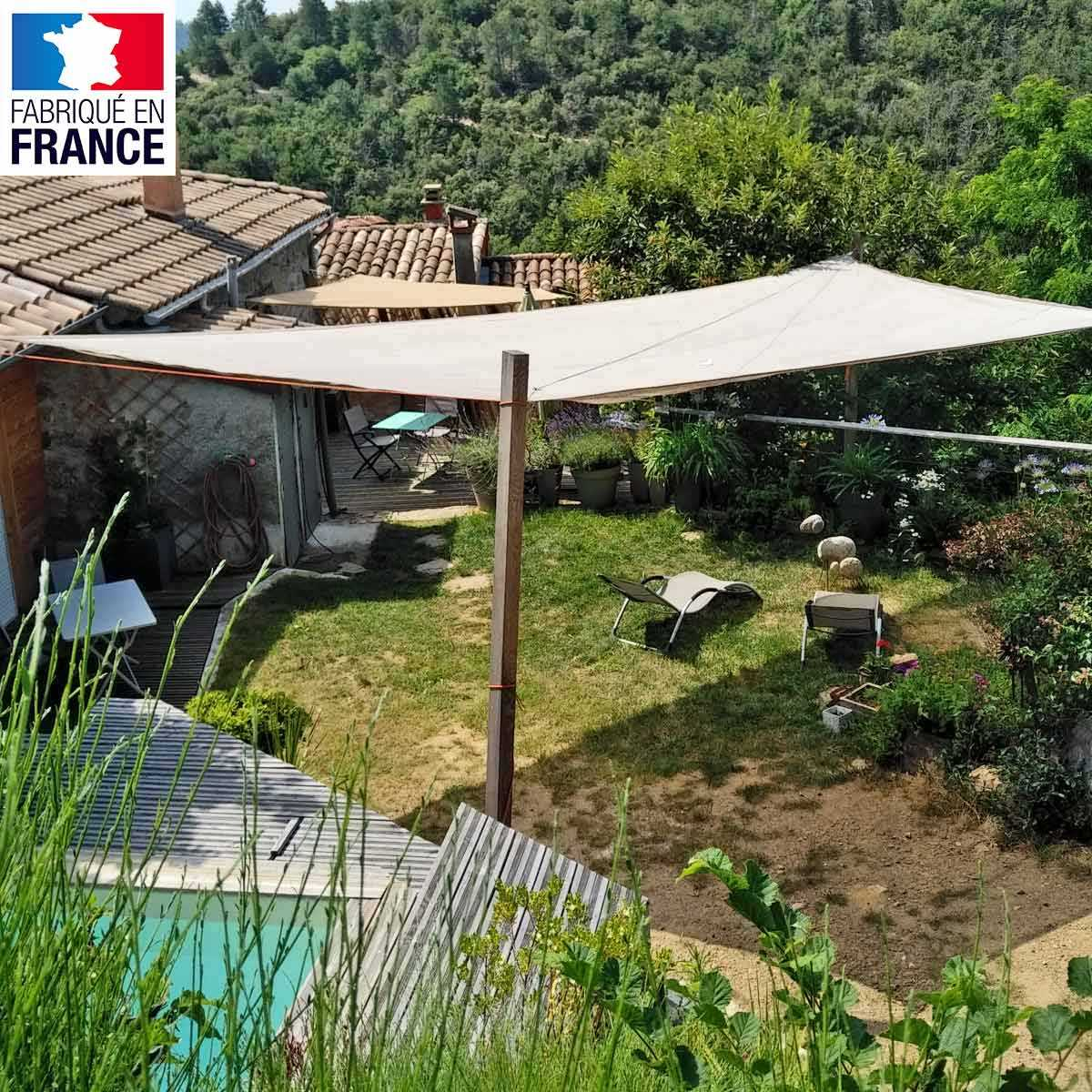 Voile D Ombrage Comment L Installer voile d'ombrage - filet de protection plantations et terrasse